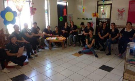 CORESAM realiza charla informativa del Comité Paritario en el Jardín Infantil ALLIPEN