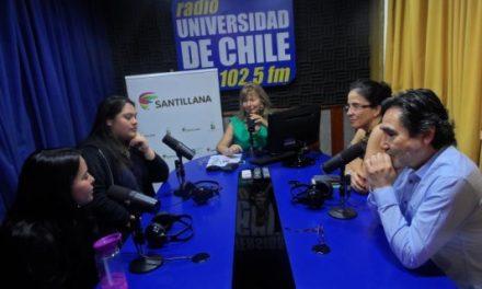 Notable participación de los alumnos del Liceo A-41 de CORESAM en su Taller de Liderazgo, presentado en la Radio Universidad de Chile