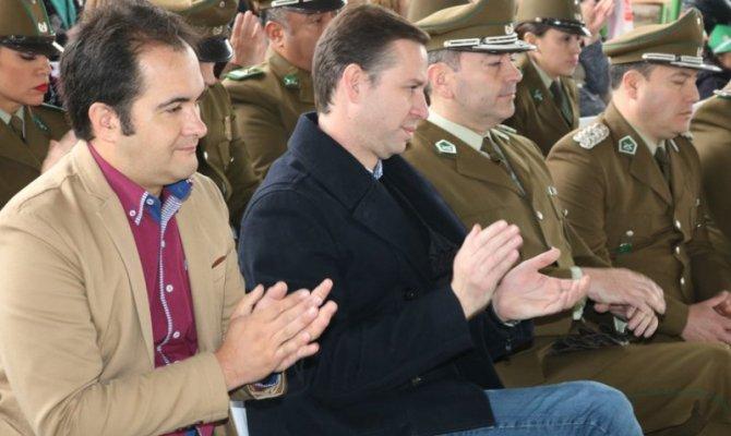 Conchalí rinde homenaje a Carabineros de Chile