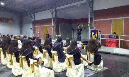 Honorable ceremonia se llevó a cabo en el Liceo Abdón Cifuentes en honor a sus titulados de Técnico en Administración y Contabilidad generación 2017.