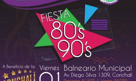 Fiesta 80's 90's a beneficio Big Band