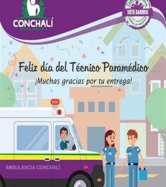 Día del Técnico Paramédico