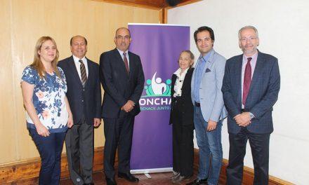 El Alcalde René de la Vega firmó importante convenio con la Universidad Bernardo O´Higgins