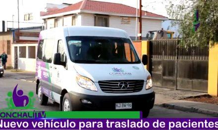Vehículo de traslado para pacientes de Conchalí