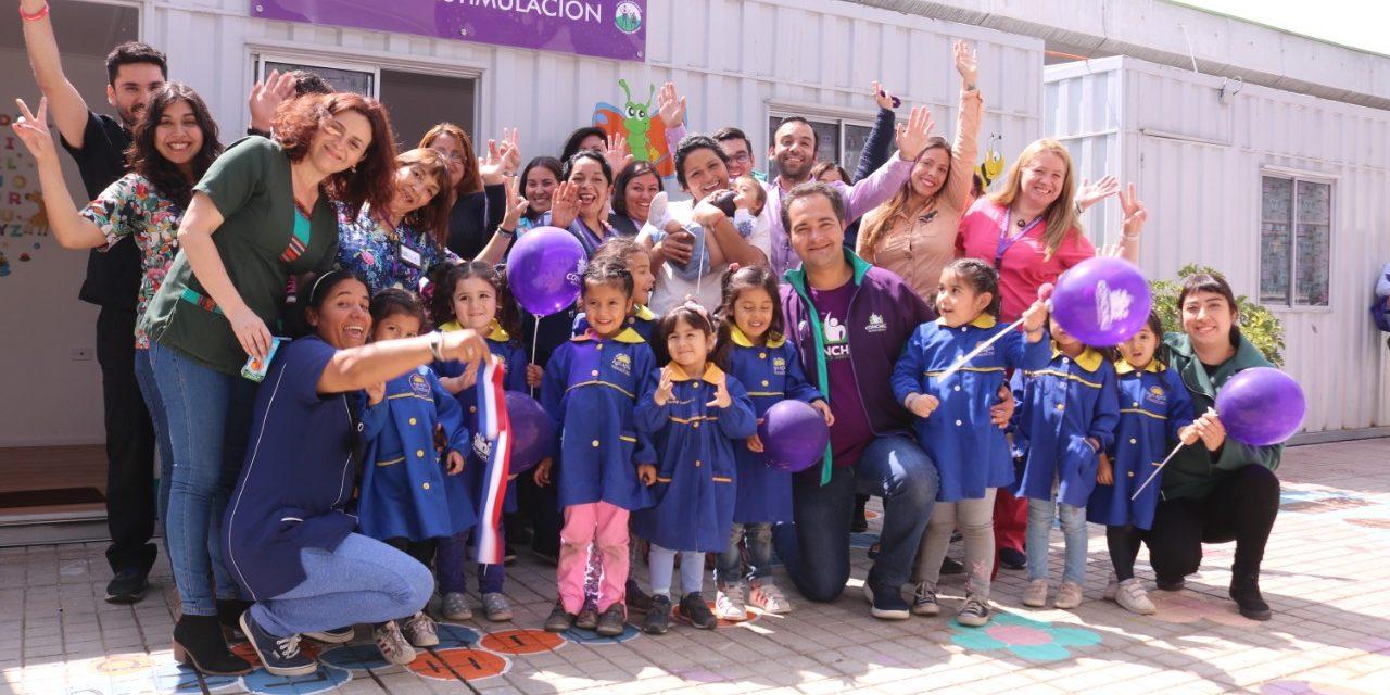 Se inaugura quinta sala de estimulación para niños y niñas de Conchalí