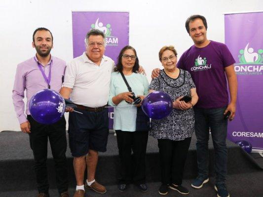 LENTES ÓPTICOS NUEVOS PARA CIENTOS DE VECINOS DE CONCHALÍ