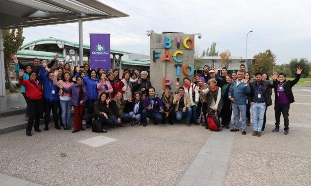 COMUNIDAD DE CONCHALÍ SE CAPACITA EN EL CUIDADO DEL AGUA Y DEL MEDIO AMBIENTE