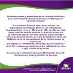 PARO NACIONAL DE EDUCADORAS DE PÁRVULOS