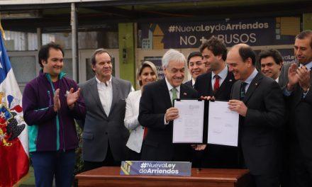 PRESIDENTE SEBASTIÁN PIÑERA VISITA CONCHALÍ PARA FIRMA DE NUEVO PROYECTO DE LEY