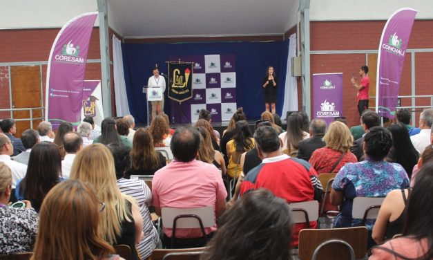 JORNADA DE RECONOCIMIENTO PARA FUNCIONARIOS CORESAM  CONCHALÍ 2019