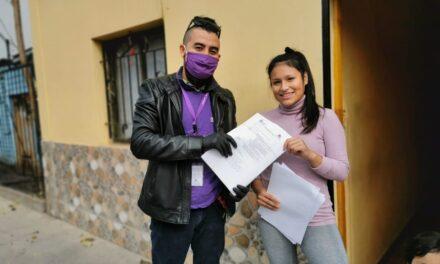 PROGRAMA DE INFANCIA REALIZA ENTREGA DE GUÍAS  A DOMICILIO